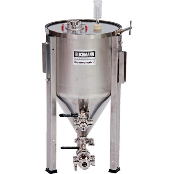 Blichmann 7 Gallon Fermenator NPT Standard Fittings - Conical Fermentor - aF3-7-NPT