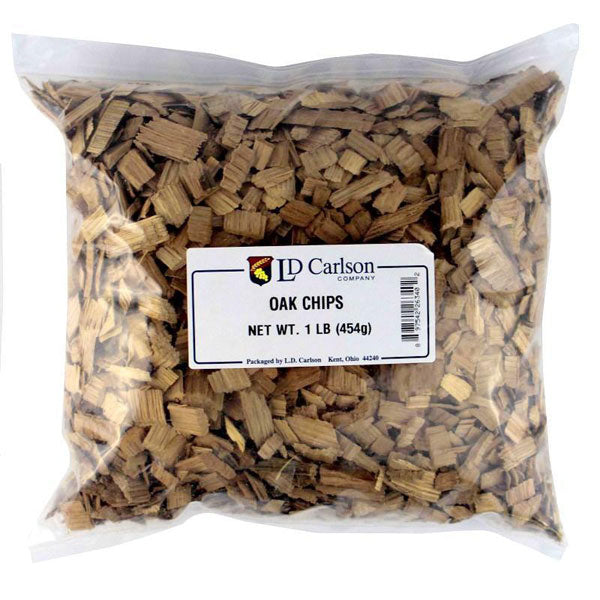 American Oak Chips 1 lb - Light Toast