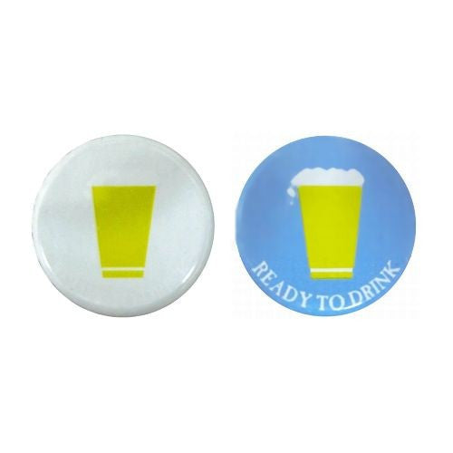 Cold Activated Color Changing Bottle Caps - 144 count