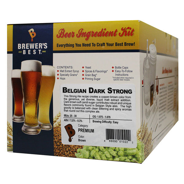 Brewer's Best Belgian Dark Strong Beer Kit