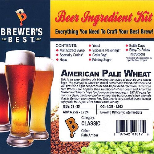 American Pale Wheat Beer Ingredient Kit