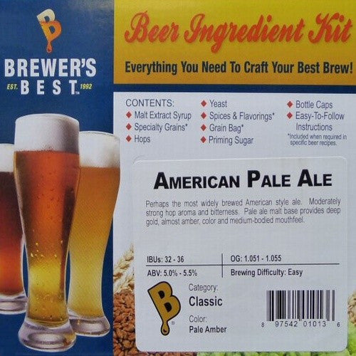 Brewer's Best American Pale Ale Beer Kit