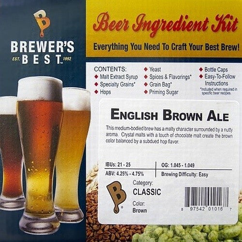 Brewer's Best English Brown Ale Beer Kit