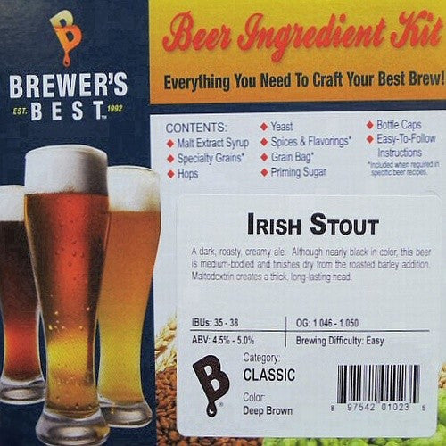 Irish Stout Beer Ingredient Kit