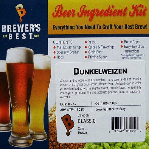 Dunkelweizen Beer Ingredient Kit