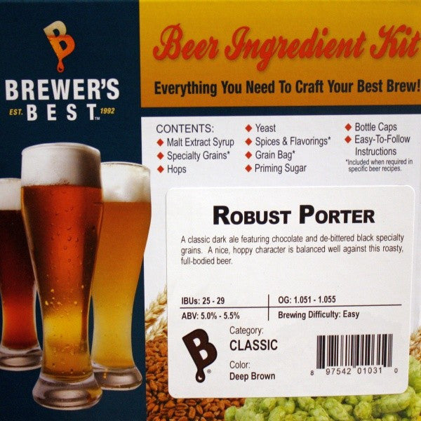 Brewer's Best Robust Porter Beer Kit