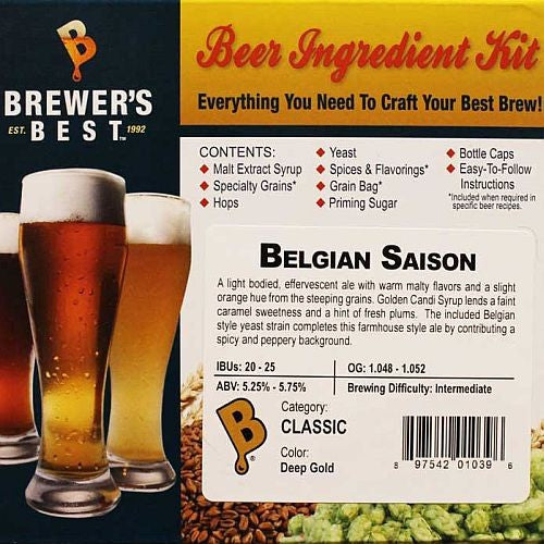 Belgian Saison Beer Ingredient Kit