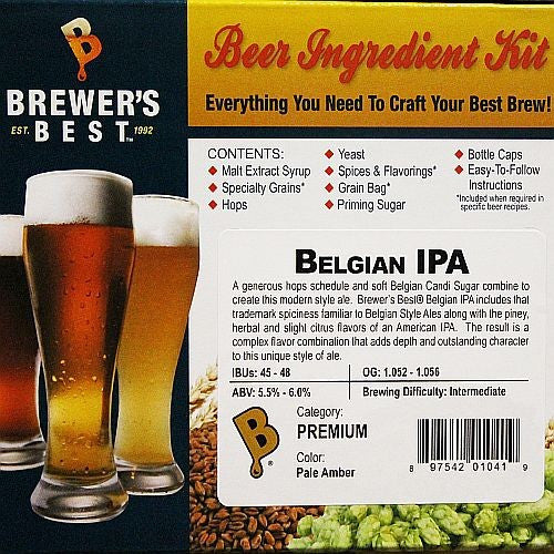 Belgian IPA Beer Ingredient Kit