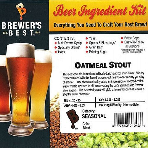 Brewer's Best Oatmeal Stout Beer Kit