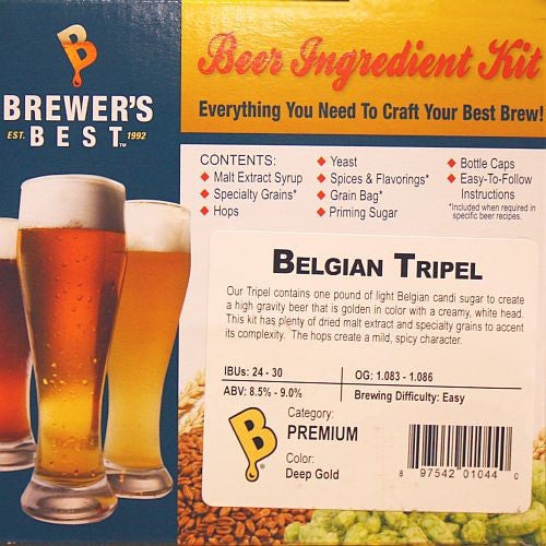 Brewer's Best Belgian Tripel Beer Kit