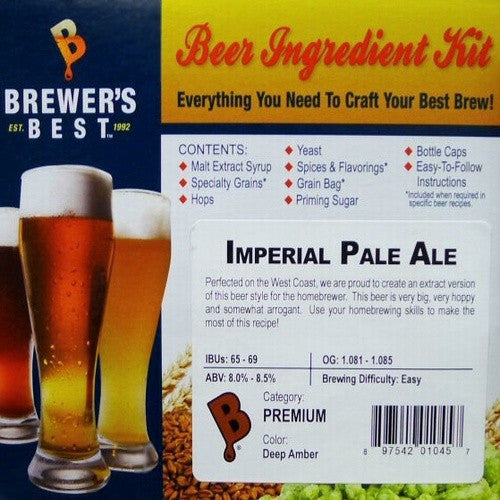 Imperial Pale Ale Beer Ingredient Kit