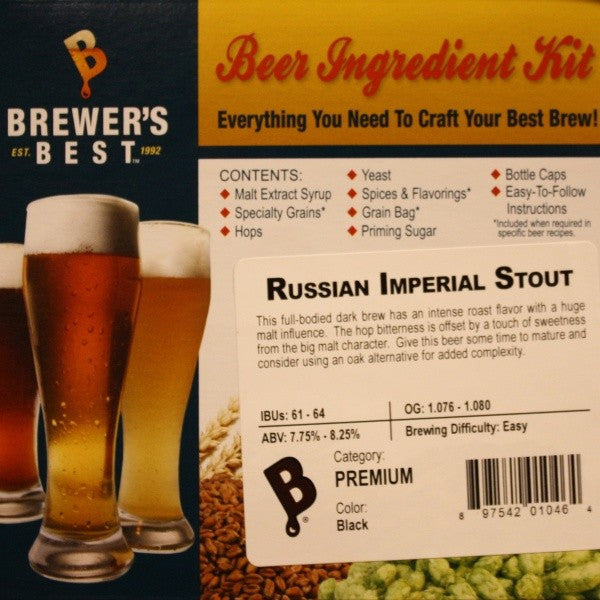 Russian Imperial Stout Beer Ingredient Kit