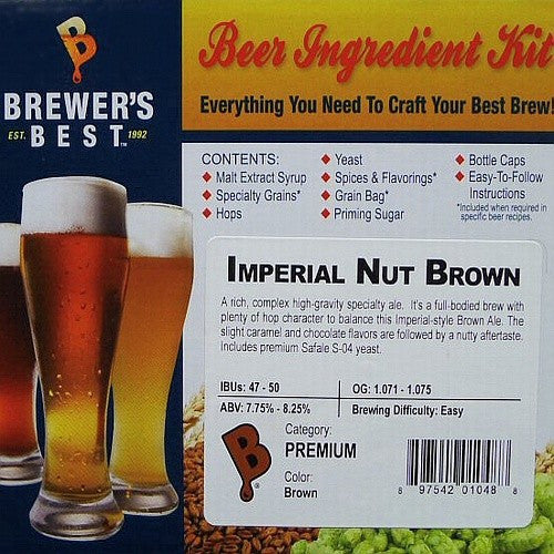 Imperial Nut Brown Beer Ingredient Kit