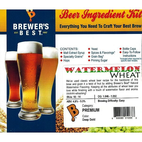 Brewer's Best Watermelon Wheat Beer Kit