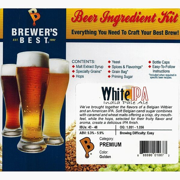 Brewer's Best White IPA Beer Kit