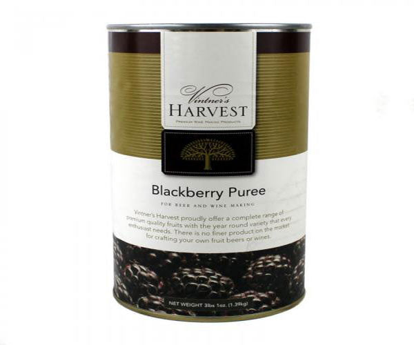 Vintner's Harvest Fruit Puree - Blackberry, 49 oz