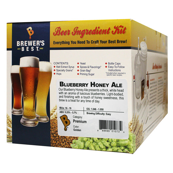Brewer's Best Blueberry Honey Ale Beer Kit