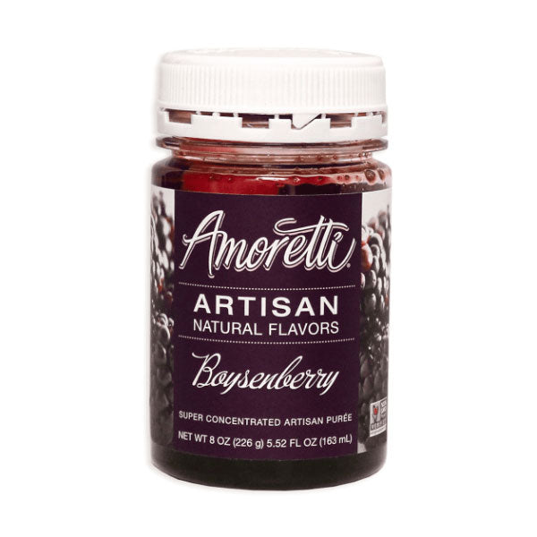 Amoretti Boysenberry Artisan Fruit Puree - 8 oz