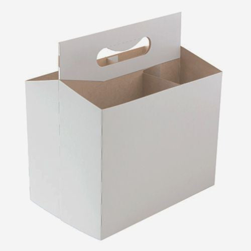 Blank Cardboard Six Pack Holder