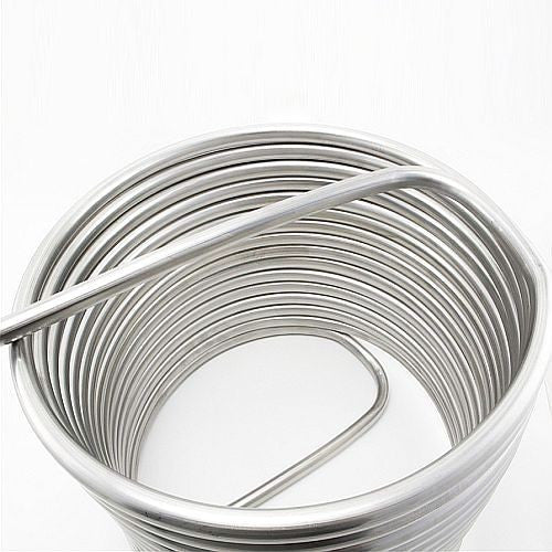 "HERMS Coil 1/2"" Stainless Steel 12"" Diameter"