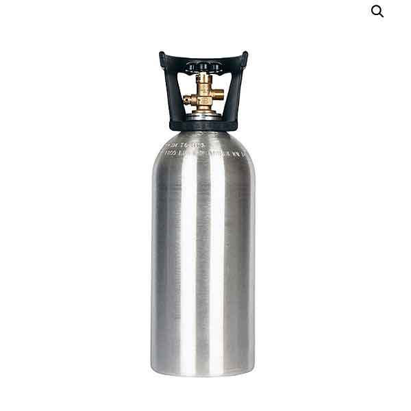 10 lb CO2 Cylinder with Handle Aluminum