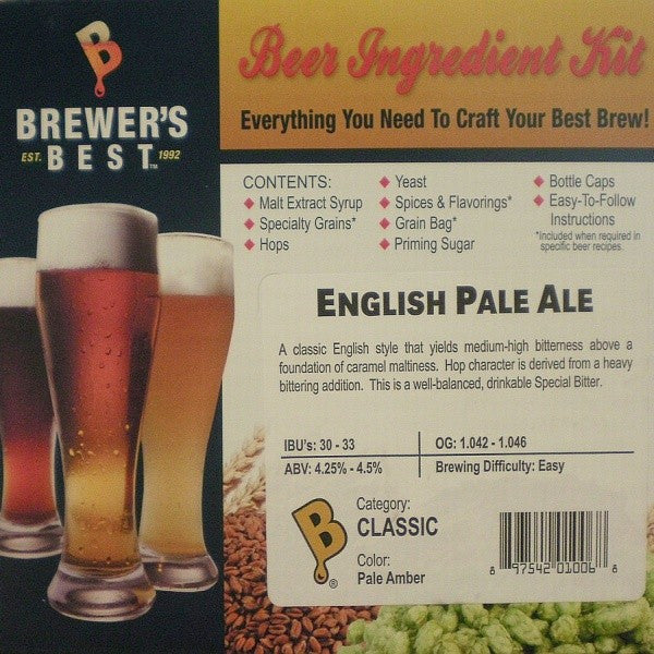 English Pale Ale Beer Ingredient Kit