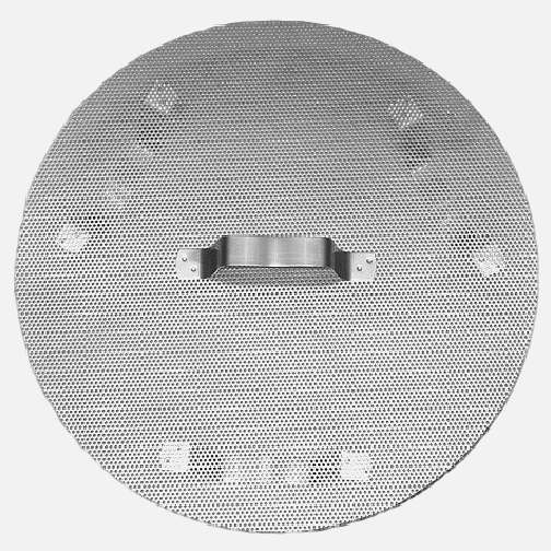 "15"" Stainless Steel False Bottom for 42qt and 60qt Kettles"