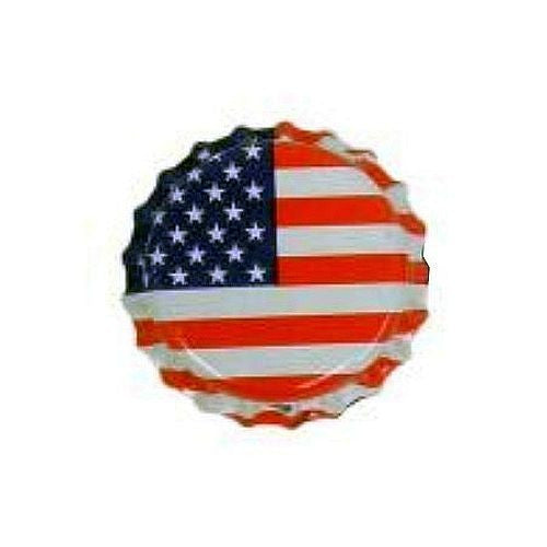 Oxygen Absorbing Bottle Caps - American Flag, 144 count