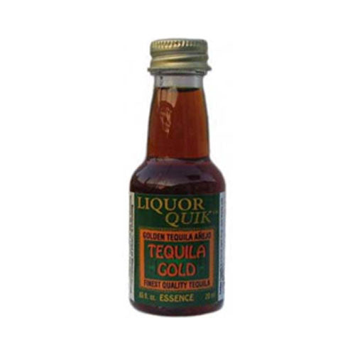 LIQUOR QUIK Golden Tequila Essence, 20ml