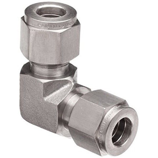 "1/2"" Compression to 1/2"" Compression Elbow - 304 Stainless"