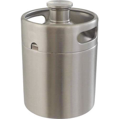 Mini Keg Stainless Steel Growler (64 oz)