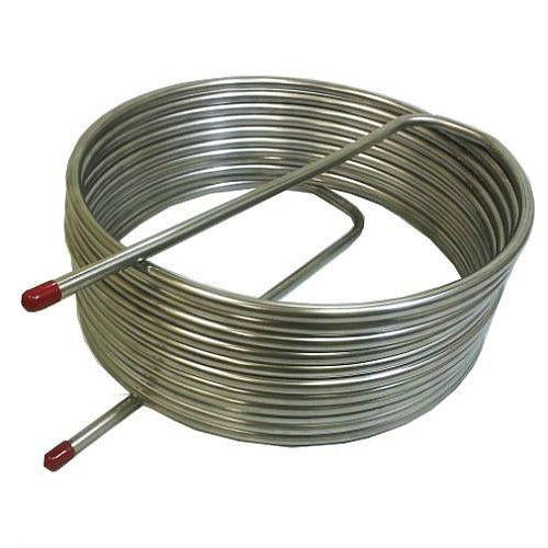 "HERMS Coil 1/2"" Stainless Steel 16"" Diameter"