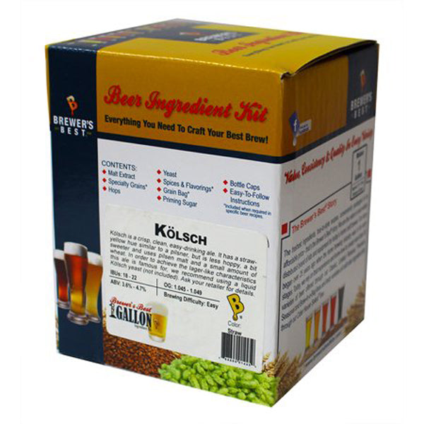 Brewer's Best Kolsch One Beer Kit - 1 Gallon