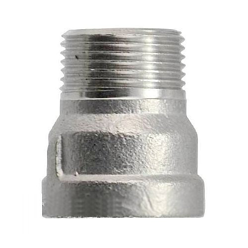 "Stainless Nipple / Extension Coupling - 1/2"" NPT"