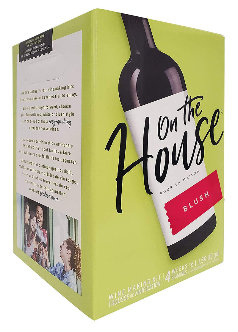 On the House Wine Ingredient Kit - Cabernet Sauvignon Style, 6 L