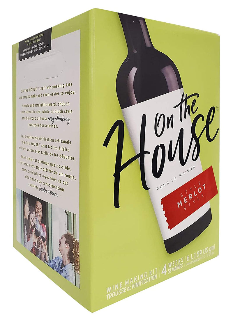 On the House Wine Ingredient Kit - Pinot Noir Style, 6 L
