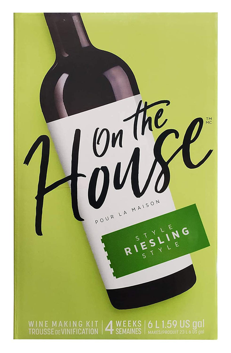 On the House Wine Ingredient Kit - Riesling Style, 6 L