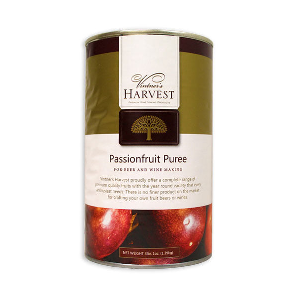 Vintner's Harvest Fruit Puree - Passionfruit - 49 oz