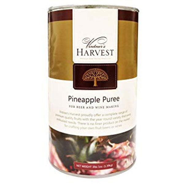 Vintner's Harvest Fruit Puree - Pineapple, 49 oz