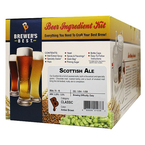 Brewer's Best Scottish Ale Beer Kit