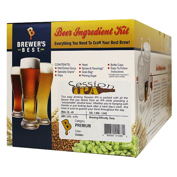 Brewer's Best Session IPA Beer Kit