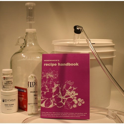 Vintners Best Wine Equipment Kit 1 Gallon