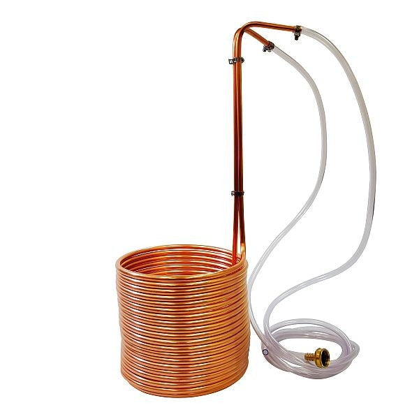 "Copper Immersion Wort Chiller 3/8"" x 50'"