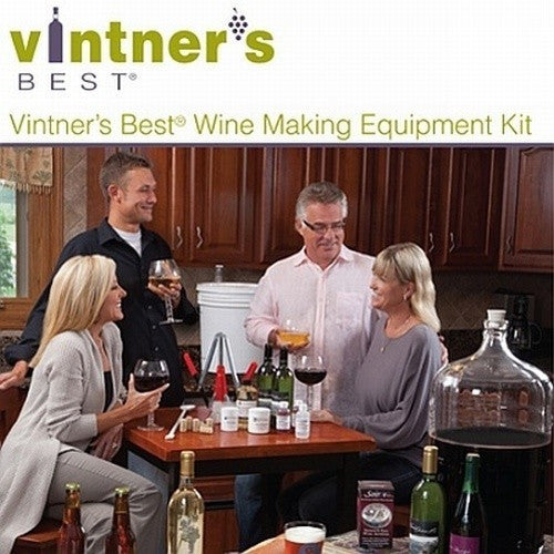 Vintner's Best Wine Making Equipment Kit 6 Gallons