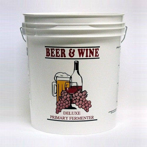 Plastic Wine Fermenting Bucket - 7.9 Gallon