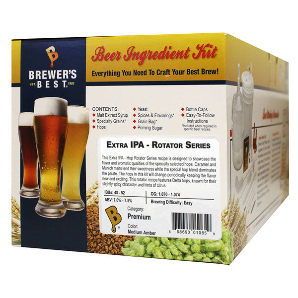 Brewer's Best Extra IPA Beer Kit - Hop Rotator Series