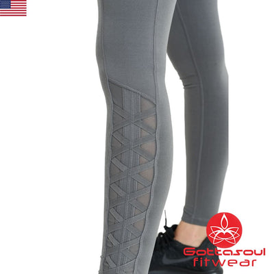 mesh leggings yoga