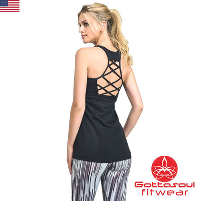 Racerback strappy Top