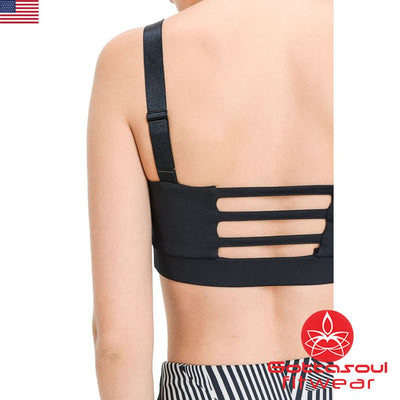triple cut sports bra