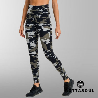 camo leggings workout